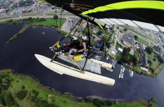 lidojums ar deltaplanu