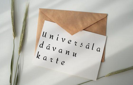 universāla dāvanu karte