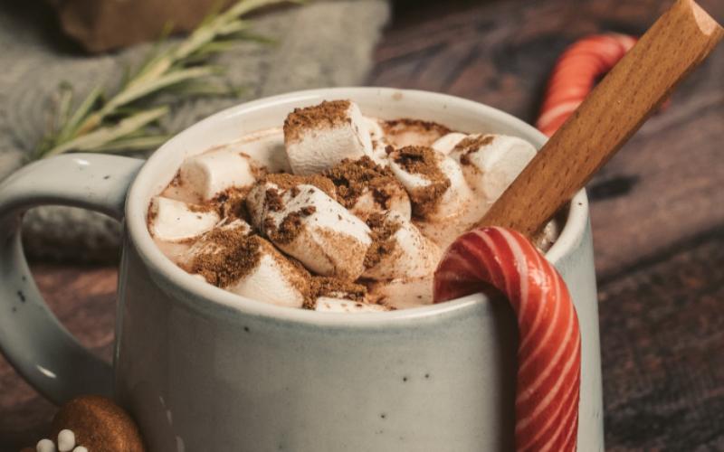 karstā šokolāde